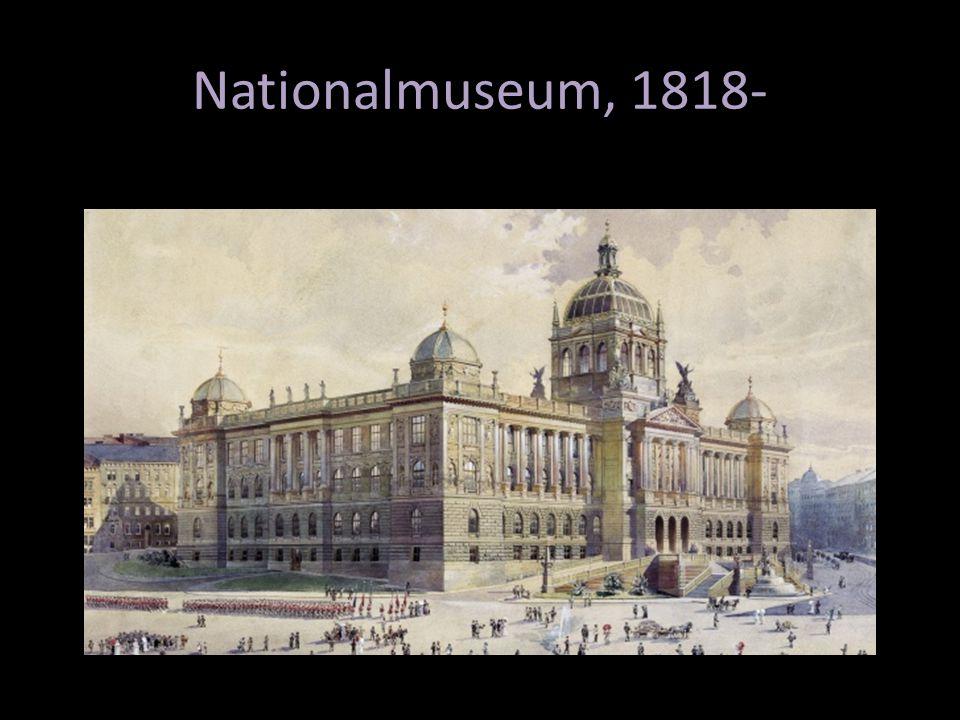 Nationalmuseum, 1818-
