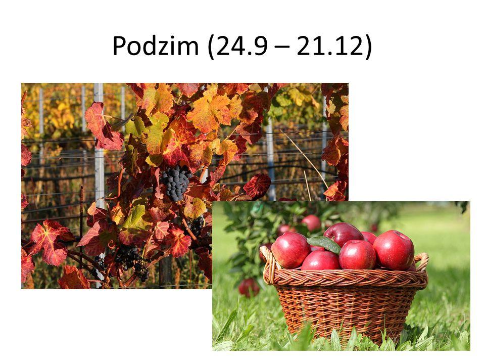 Podzim (24.9 – 21.12)