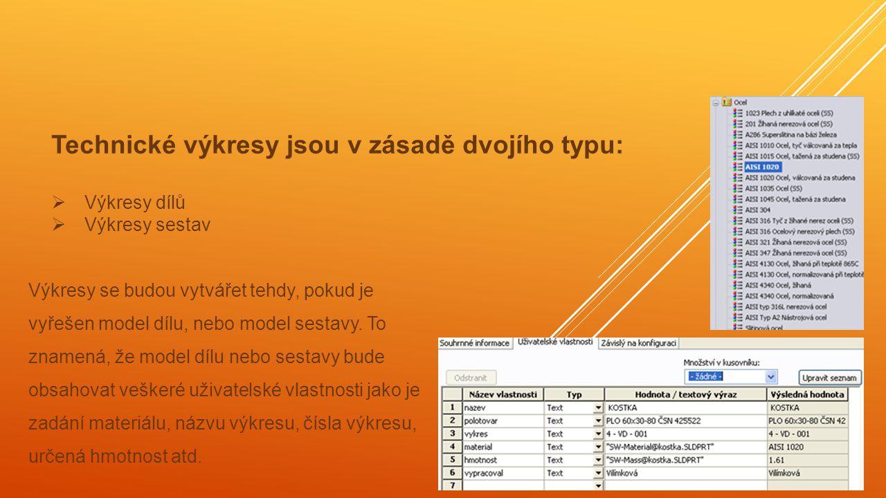  Prvním krokem bude otevření výkresového souboru šablony výkresového listu příslušného formátu, např.