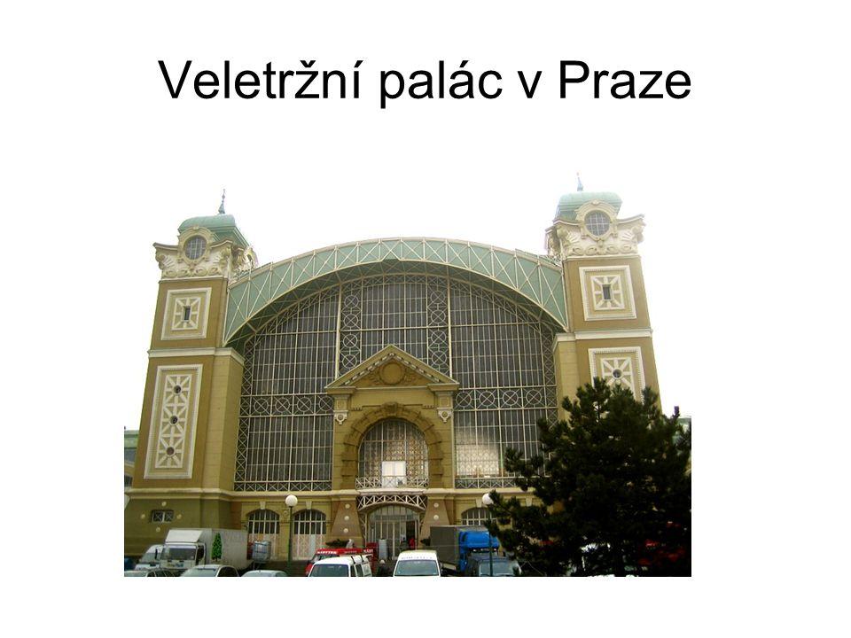 Veletržní palác v Praze