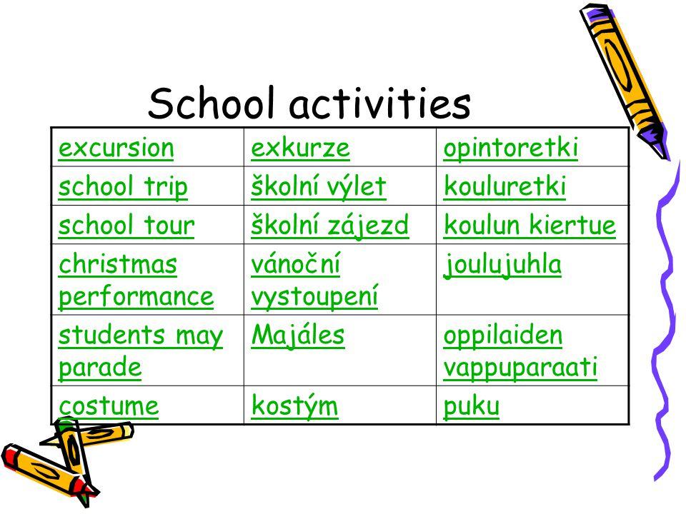 School activities excursionexkurzeopintoretki school tripškolní výletkouluretki school tourškolní zájezdkoulun kiertue christmas performance vánoční v