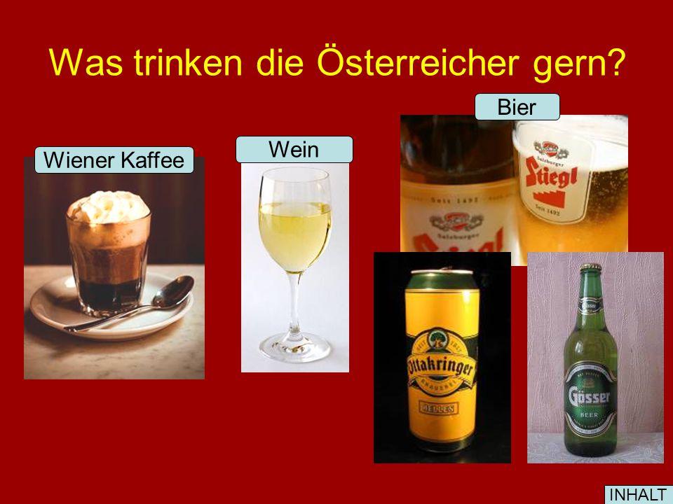 Was essen die Österreicher gern.