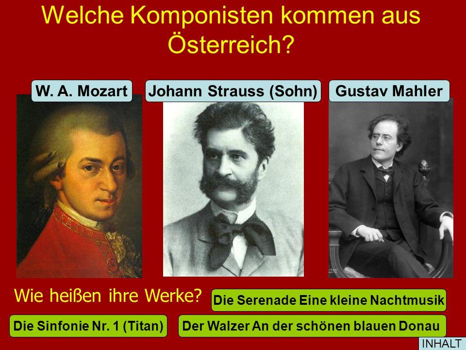 Wer kommt aus Österreich. Stefan ZweigSigmund Freund Gustav Klimt Maler F.