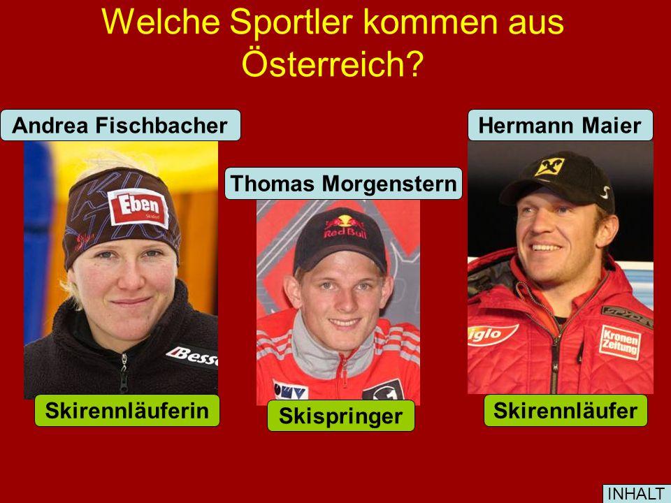 Welche Komponisten kommen aus Österreich. W. A.
