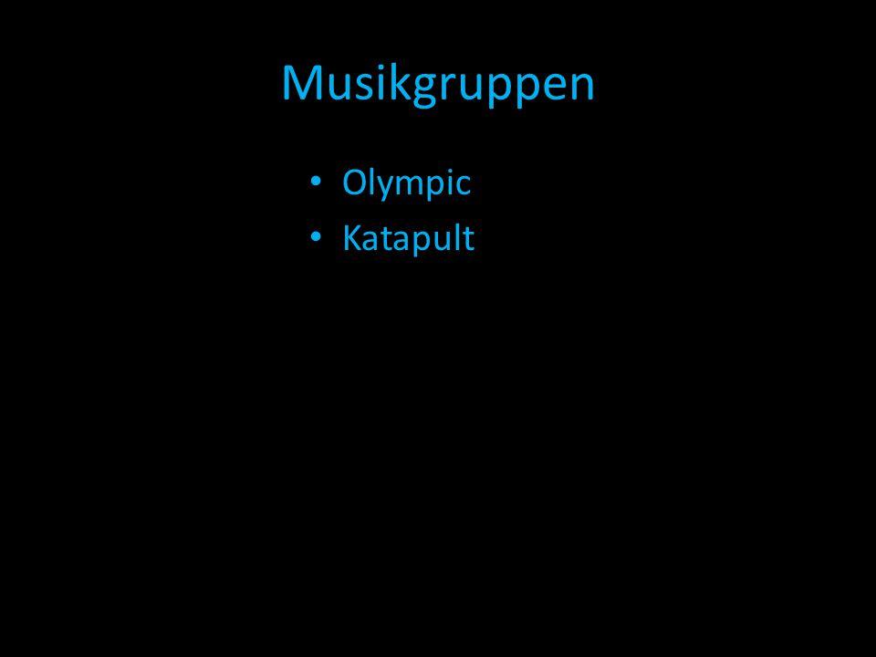 Musikgruppen Olympic Katapult