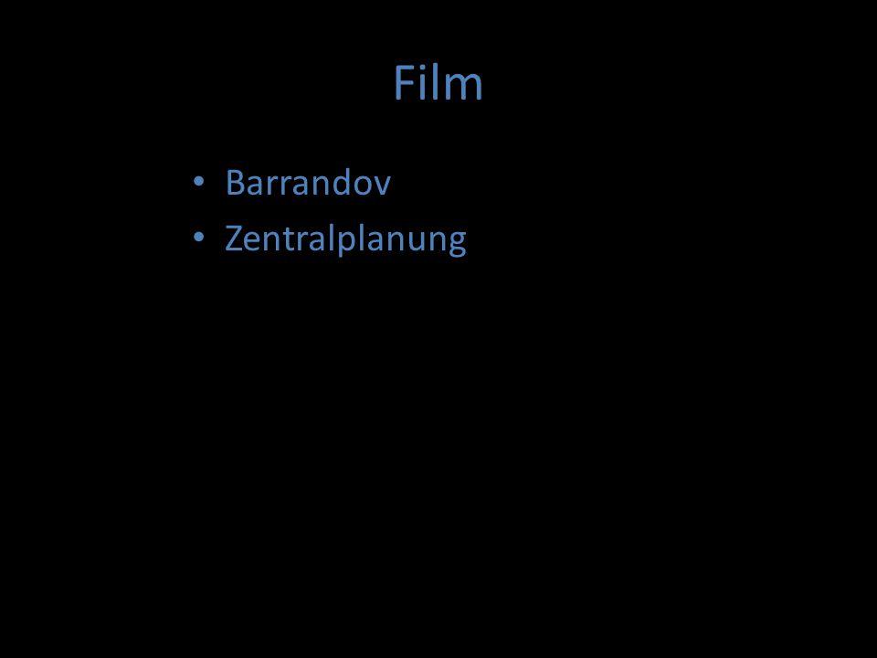 """Film Barrandov Zentralplanung """"Tresorfilme"""" Animationsfilm Filmmusik Wichtigste Festivals Tschechische Filme mit Oscars"""
