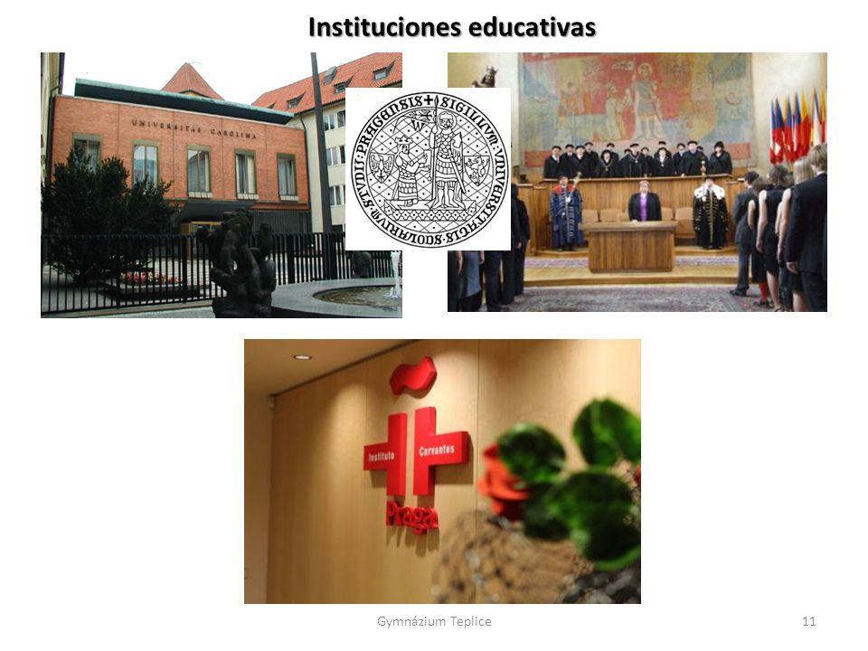 Instituciones educativas Gymnázium Teplice11