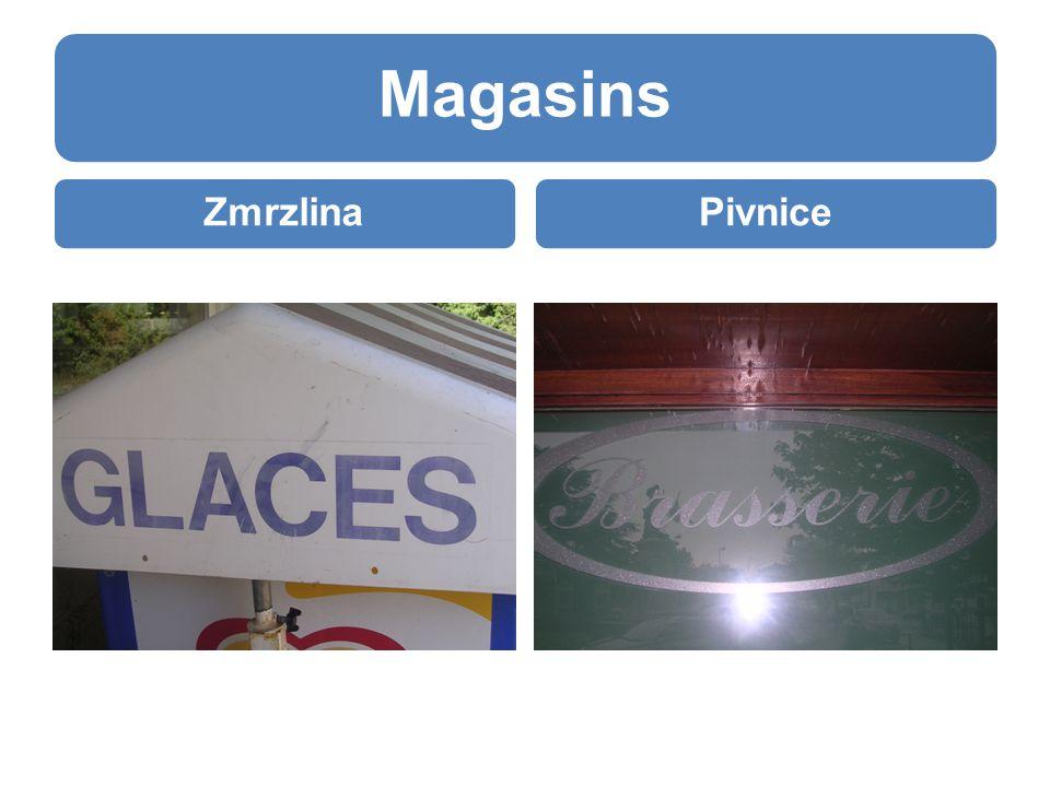 Magasins ZmrzlinaPivnice