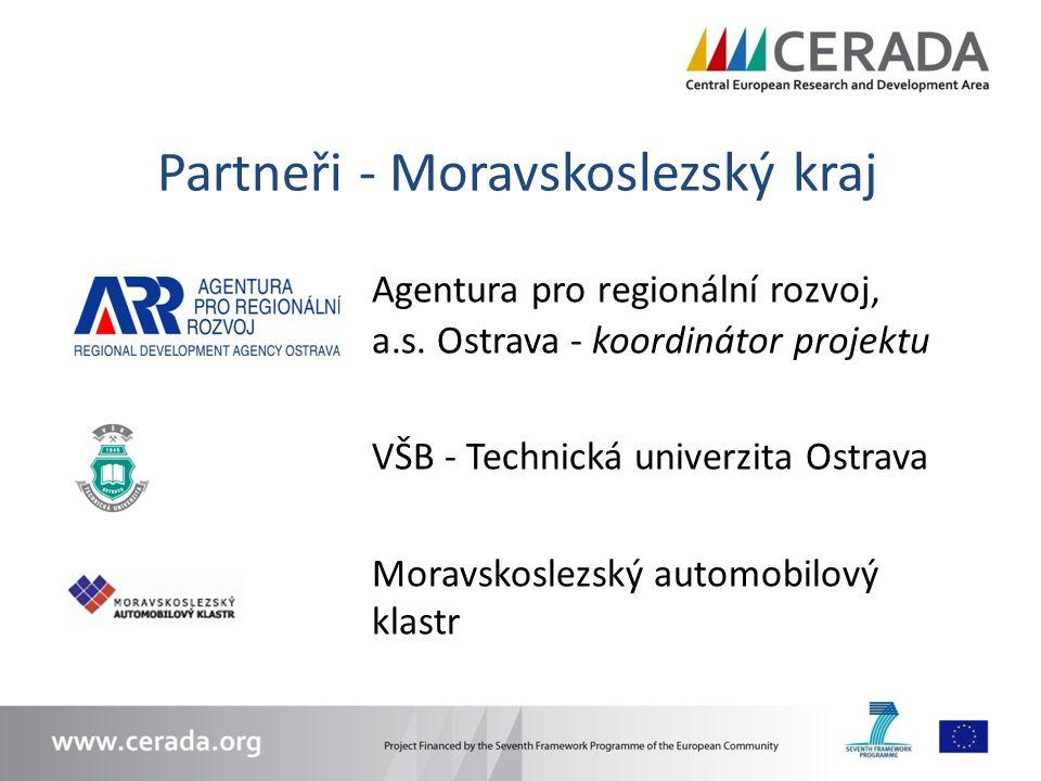 Partneři - Moravskoslezský kraj Agentura pro regionální rozvoj, a.s.