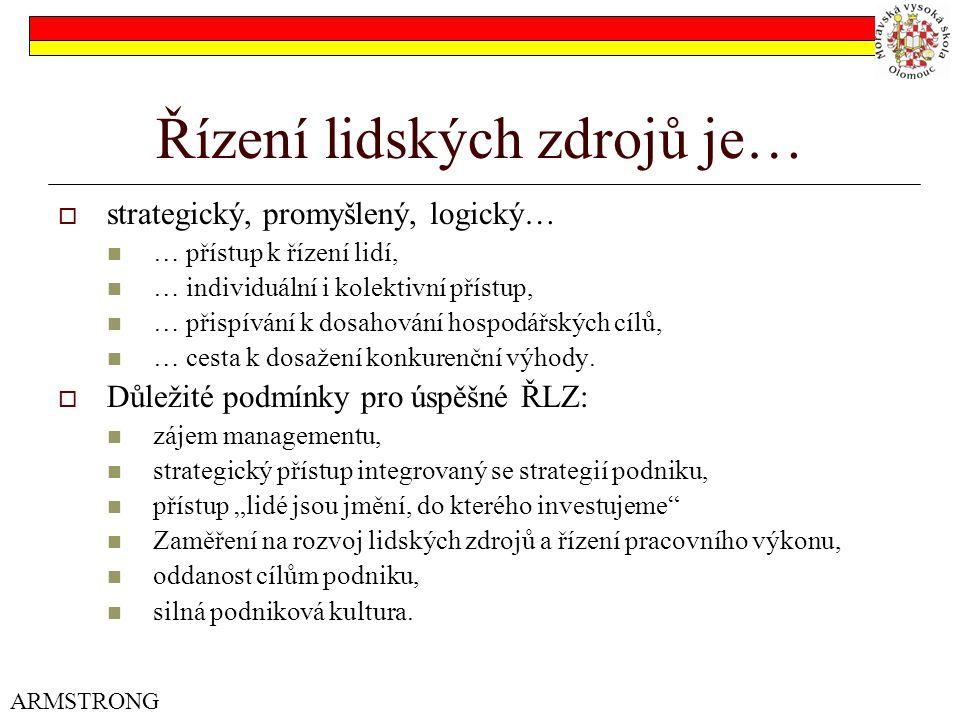 Strategie ŘLZ – cíle 3.