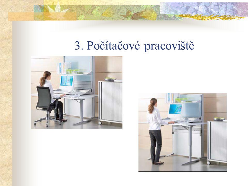 3. Počítačové pracoviště