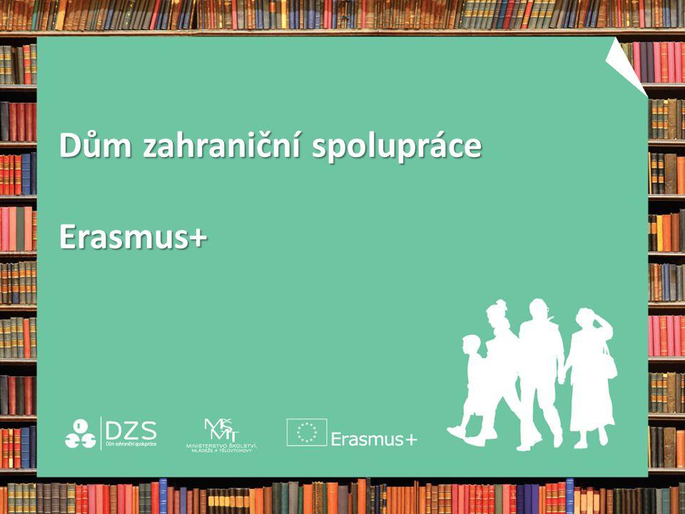 Dům zahraniční spolupráce Erasmus+