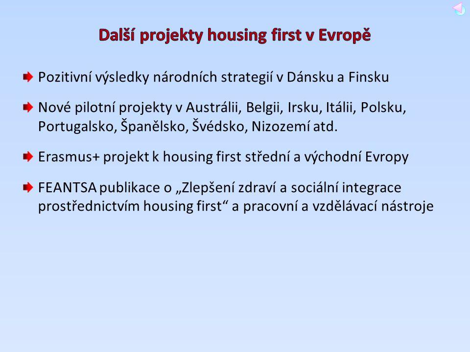 Pozitivní výsledky národních strategií v Dánsku a Finsku Nové pilotní projekty v Austrálii, Belgii, Irsku, Itálii, Polsku, Portugalsko, Španělsko, Švé
