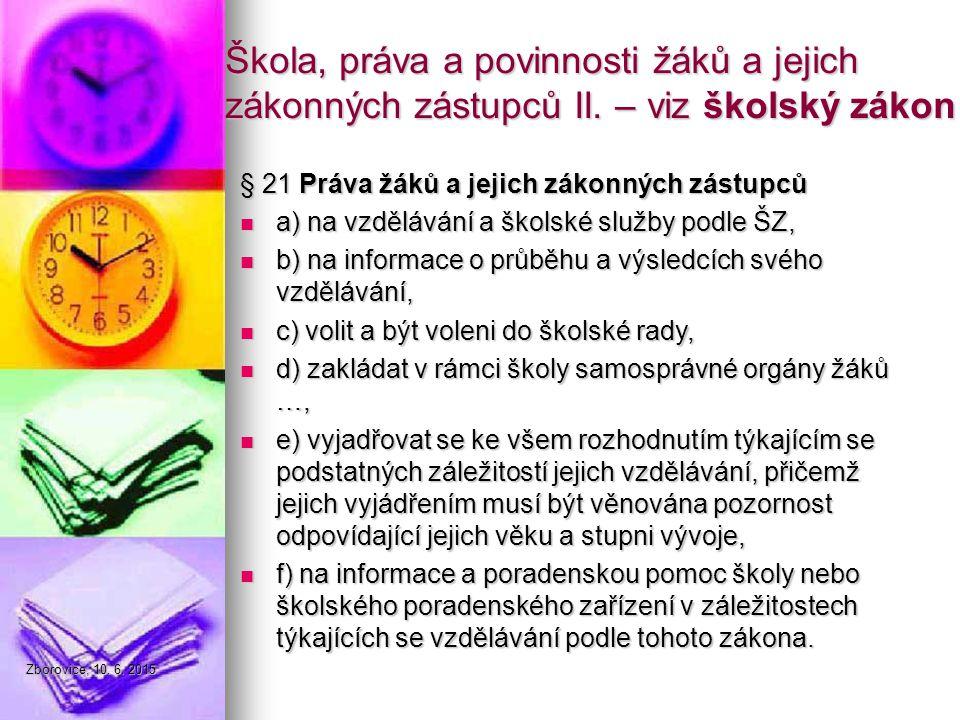 Zborovice, 10. 6.