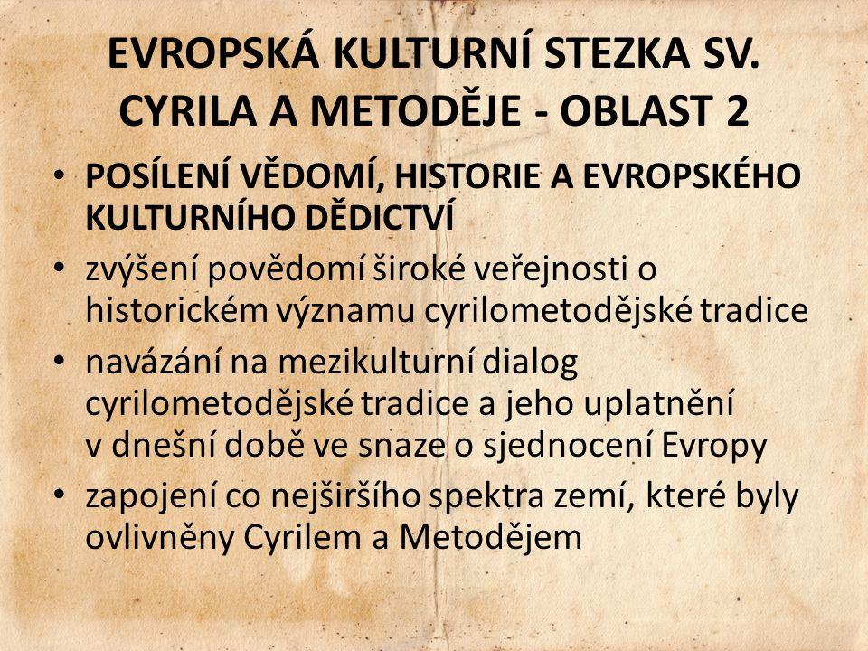 EVROPSKÁ KULTURNÍ STEZKA SV.
