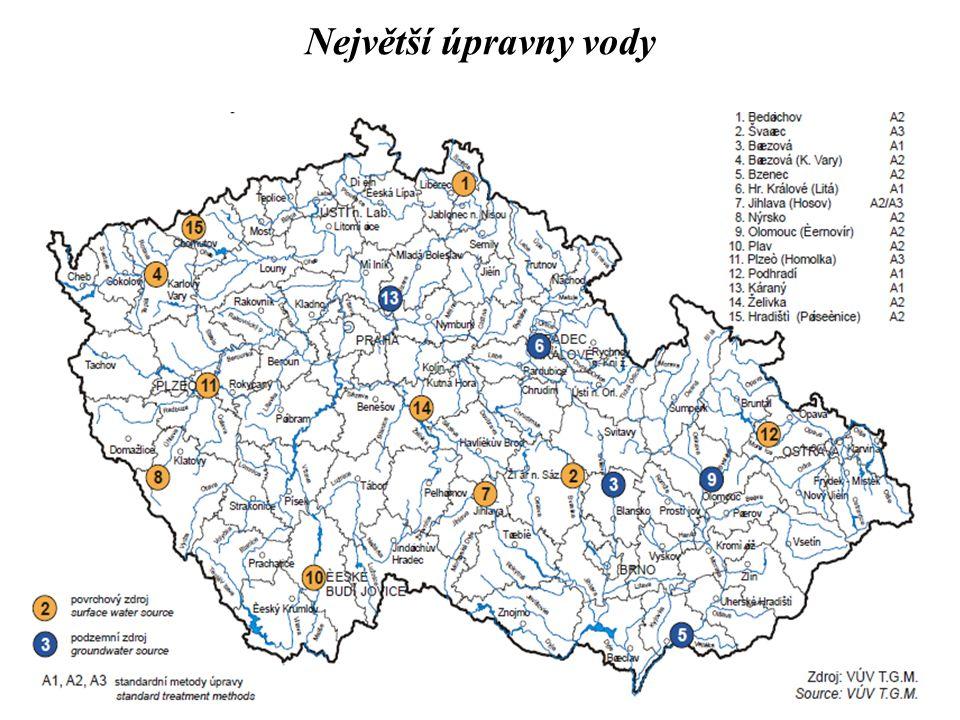 40 Největší úpravny vody