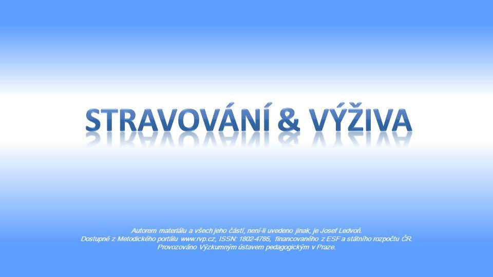 Autorem materiálu a všech jeho částí, není-li uvedeno jinak, je Josef Ledvoň.