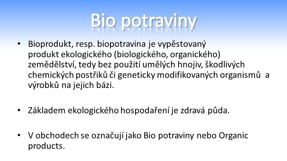 Bioprodukt, resp.