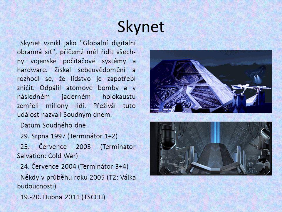 Skynet Skynet vznikl jako