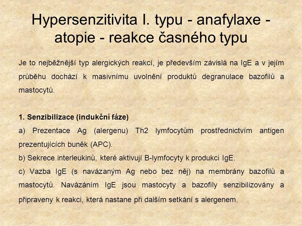 Hypersenzitivita I.