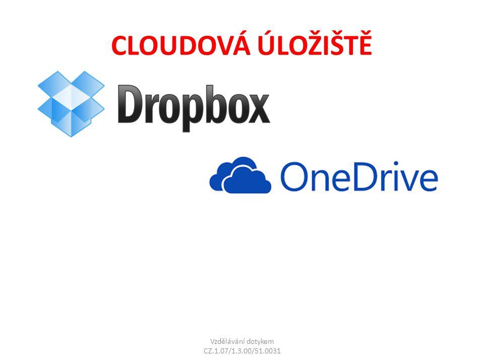 Microsoft SkyDrive Operační systém: iPhone, iPad, Windows Phone, Android, Mac OS, Windows XP a novější Čeština: ANO Vyžaduje instalaci: ANO Kapacita zdarma: 7 GB Služba synchronizuje data a dokumenty, lze upravovat on-line v Microsoft Office přímo na webu Součástí je sledování verzí dokumentů, on-line prezentace fotografií Maximální velikost jednoho souboru je 2 GB Freeware.