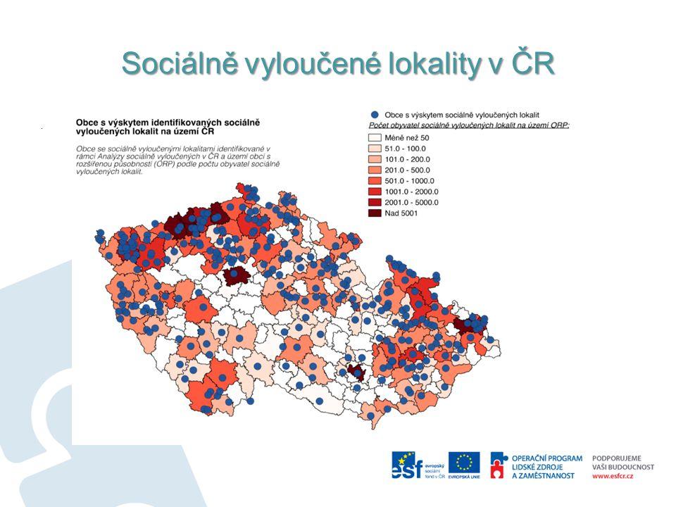 Sociálně vyloučené lokality v ČR.