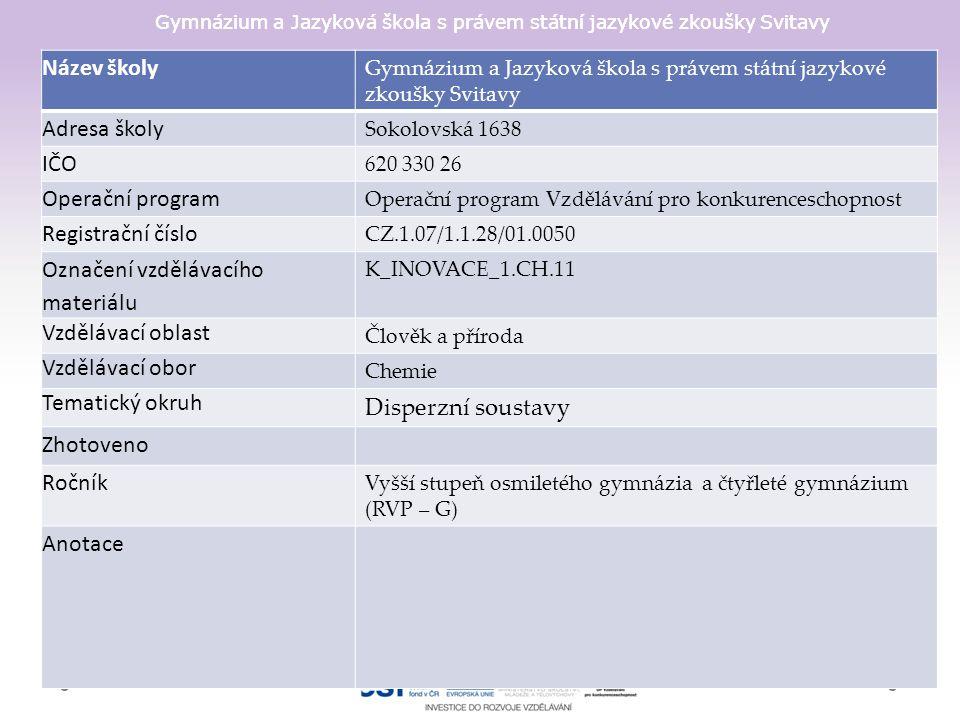 Chemické látky PrvkySloučeniny Disperze (směsi)Chemicky čisté látky Soubor atomů se stejným protonovým číslem Soubor atomů s odlišným protonovým číslem, spojených ve vazbě