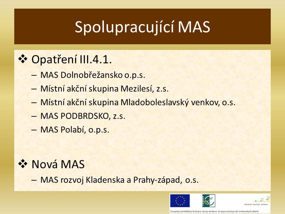  Opatření III.4.1. – MAS Dolnobřežansko o.p.s. – Místní akční skupina Mezilesí, z.s.