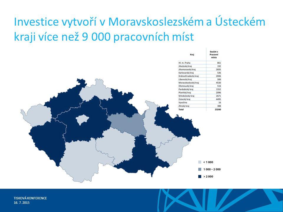 TISKOVÁ KONFERENCE 16. 7.