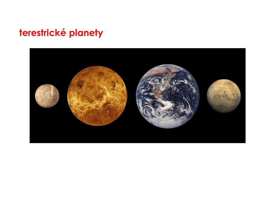 terestrické planety