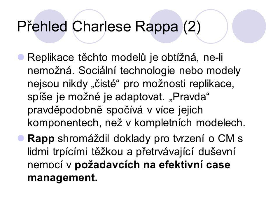 """Přehled Charlese Rappa (2) Replikace těchto modelů je obtížná, ne-li nemožná. Sociální technologie nebo modely nejsou nikdy """"čisté"""" pro možnosti repli"""