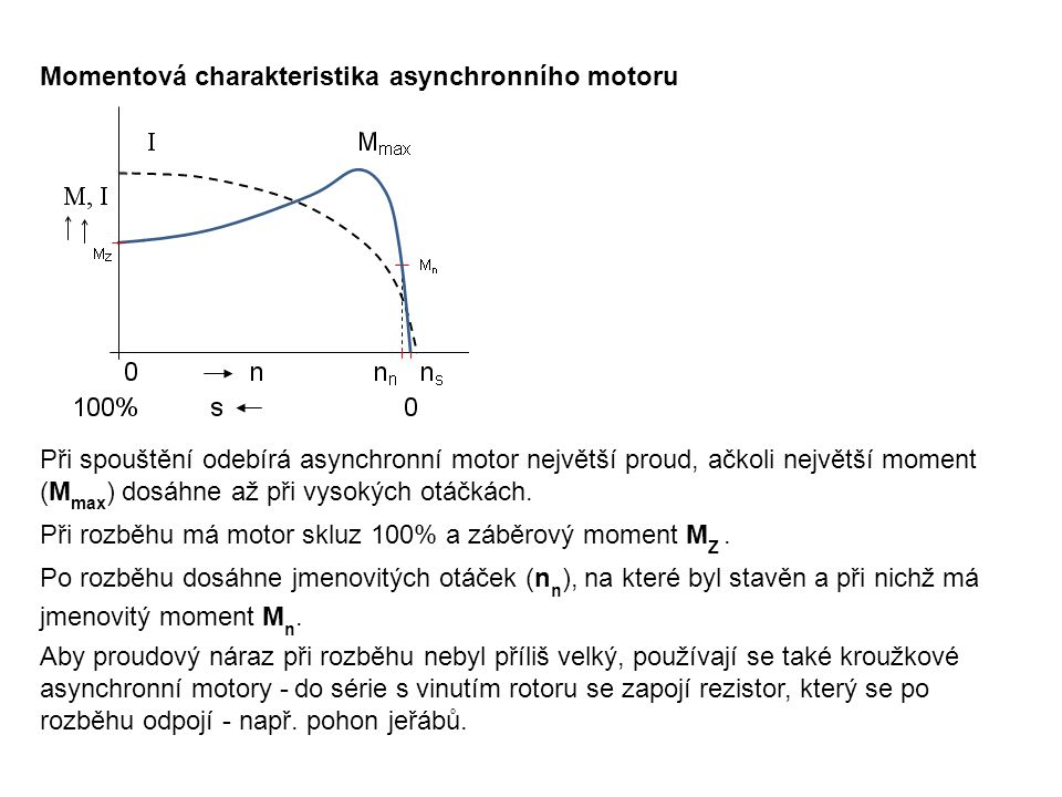 PRACOVNÍ LIST 1.Kontrolní otázky: Jaké výhody a nevýhody má trojfázový asynchronní motor.