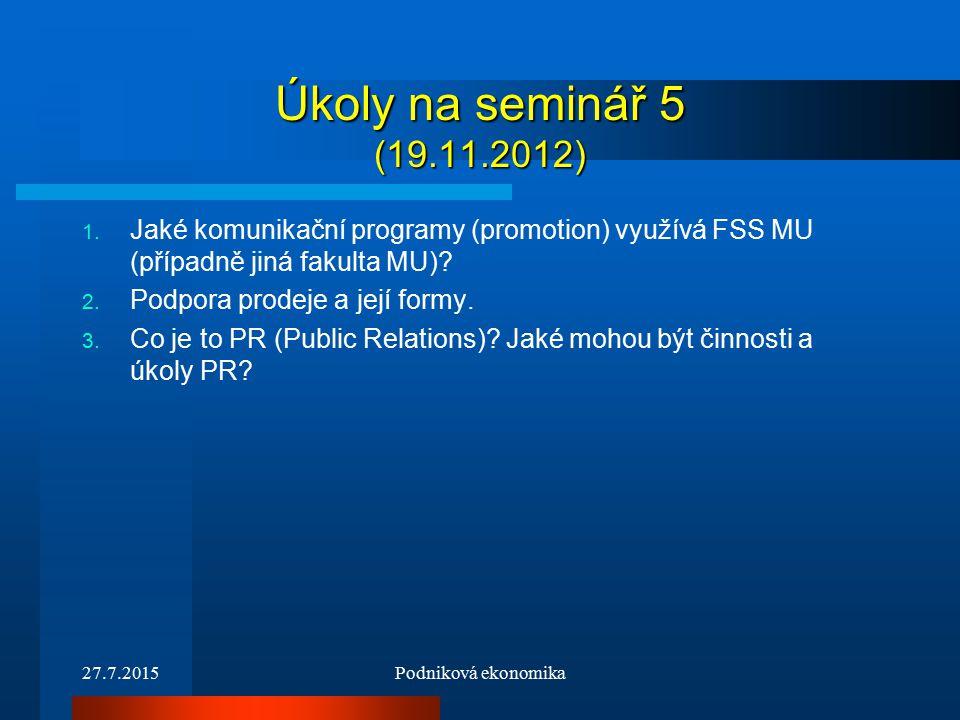 Úkoly na seminář 5 (19.11.2012) 1.