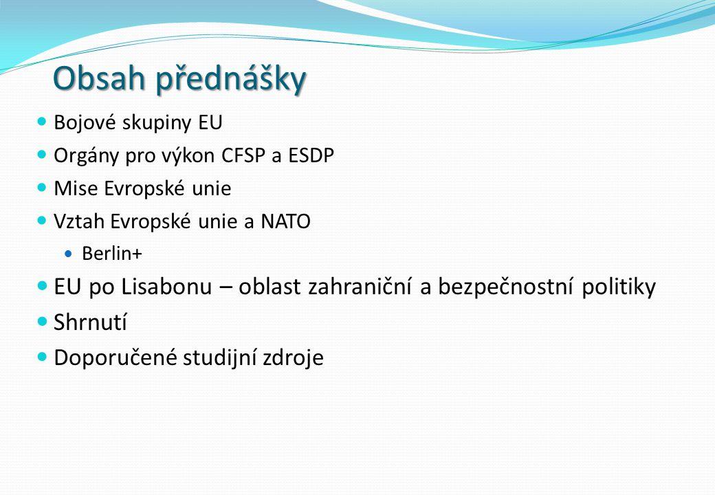 Akcelerace SZBP (CFSP) a EBOP (ESDP) 1997 - Amsterodamská smlouva Mj.