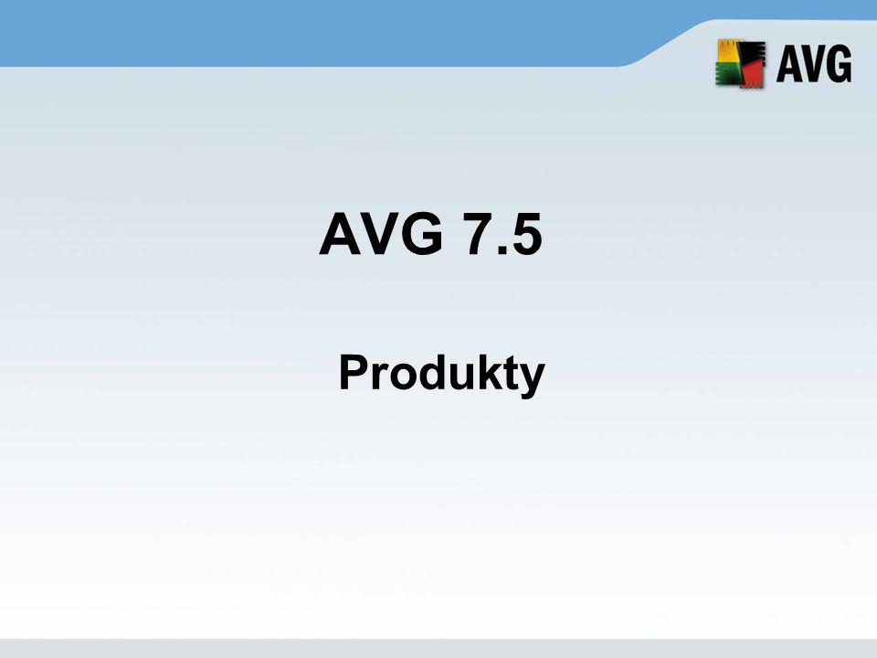 AVG Anti-Spyware Maximální ochrana před spyware, adware a dalšími typy škodlivého kódu ( DLL Trojany, Dialery, Keyloggery, atp.) Nástroje pro analýzu – po spuštění, při připojení a během procesů.