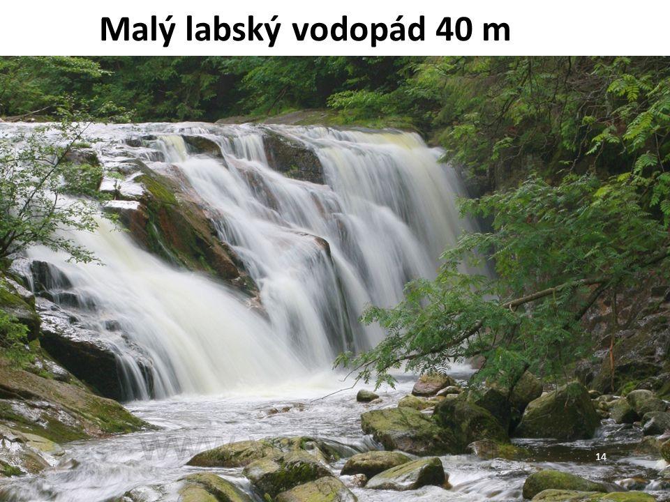 Malý labský vodopád 40 m 14