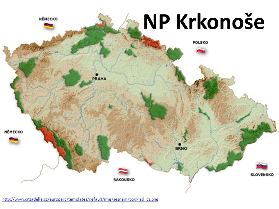 http://en.arup.cas.cz/cz/publikace/files/rozhledy/mapa_CR_pro_AR.bmp NP Krkonoše