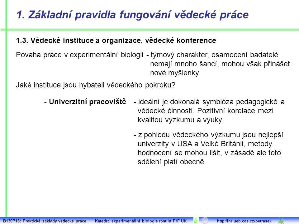 1.4.Etické aspekty vědecké činnosti 1.