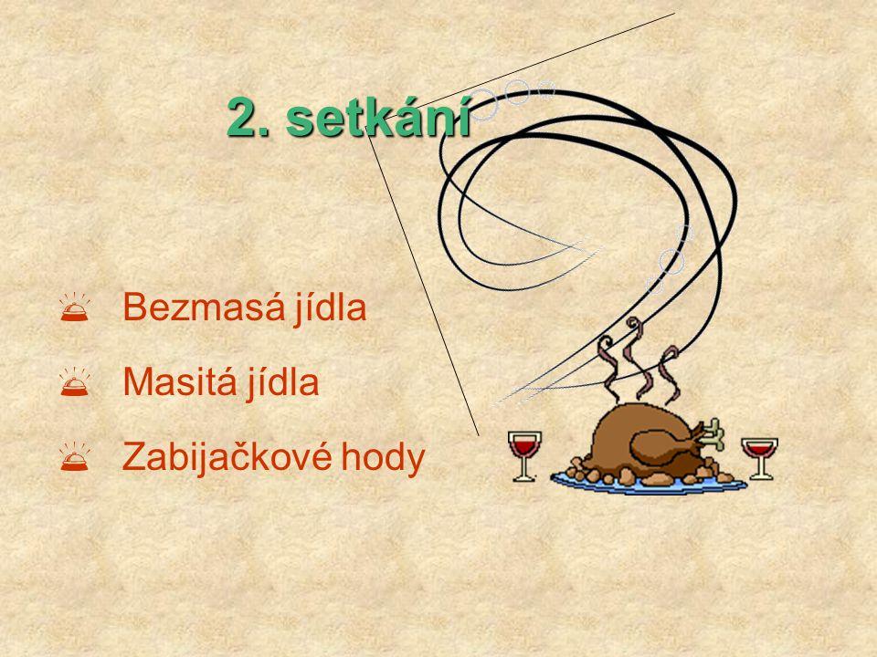 3. setkání  Studená kuchyně  Moučníky
