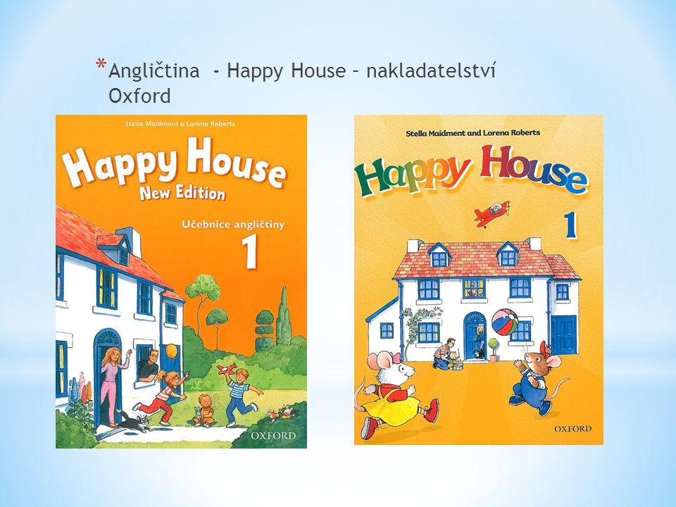 * Angličtina - Happy House – nakladatelství Oxford