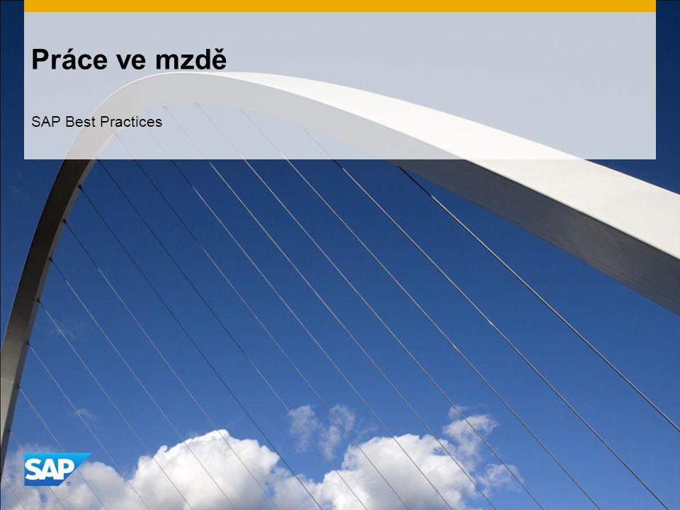 Práce ve mzdě SAP Best Practices