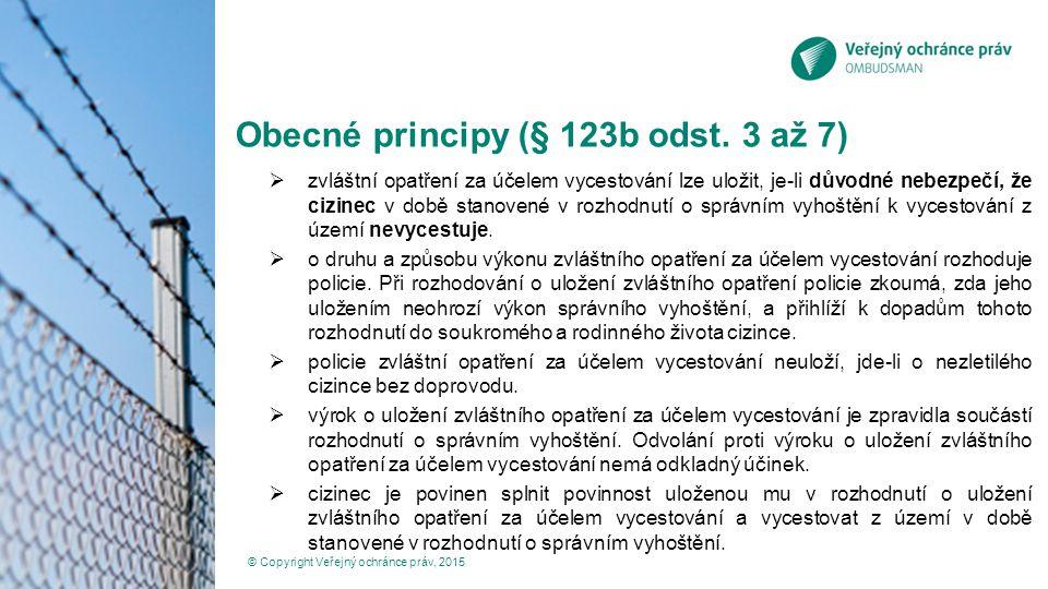 Judikatura správních soudů k alternativám zajištění Rozsudek NSS čj.