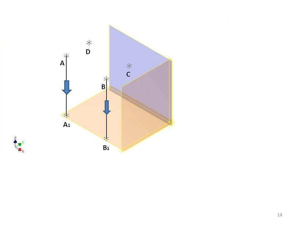 A B C D A1A1 B1B1 14