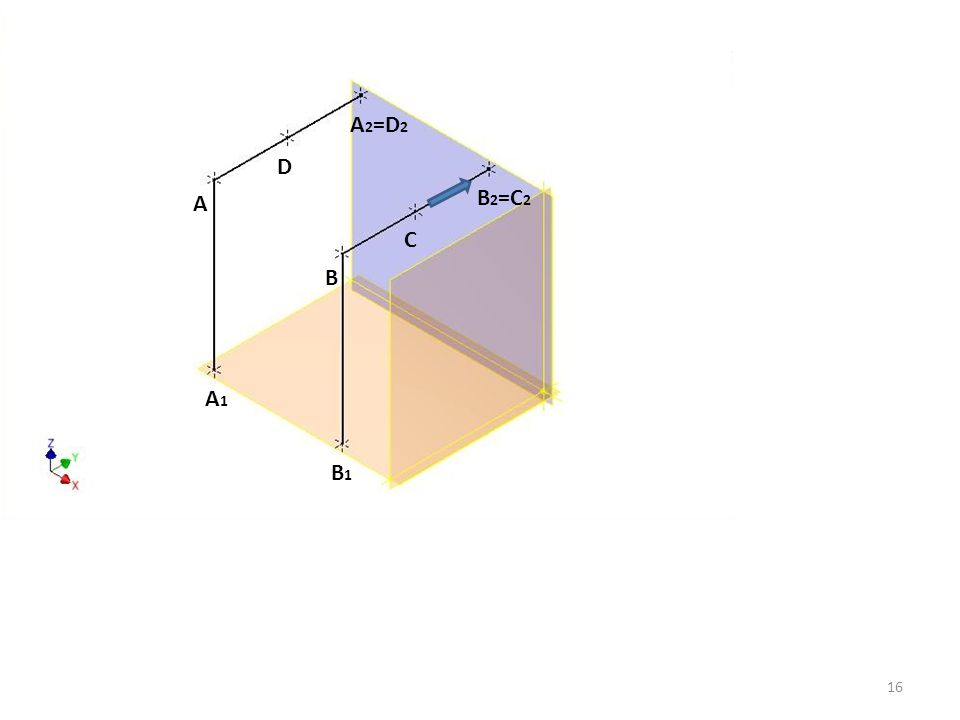A 2 =D 2 B 2 =C 2 D C A B B1B1 A1A1 16