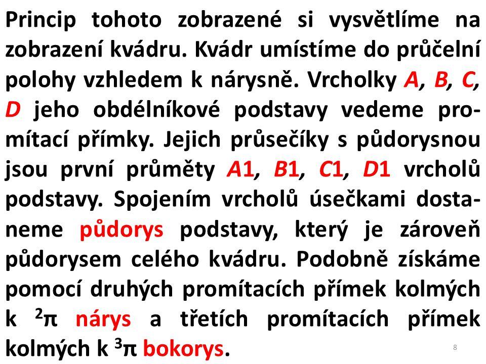 NÁRYS PŮDORYS PRAVÝ BOKORYS NÁRYS PRAVÝ BOKORYS PŮDORYS 39