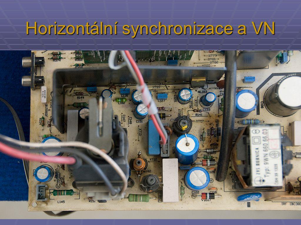 Horizontální synchronizace a VN