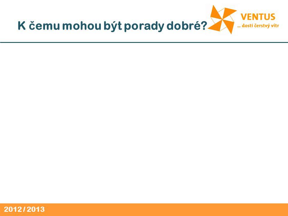 2012 / 2013 K č emu mohou být porady dobré