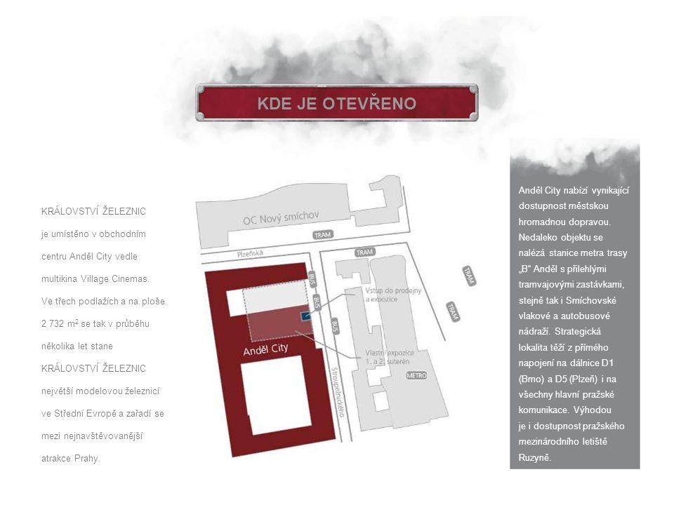 """KDE JE OTEVŘENO Anděl City nabízí vynikající dostupnost městskou hromadnou dopravou. Nedaleko objektu se nalézá stanice metra trasy """"B"""" Anděl s přileh"""