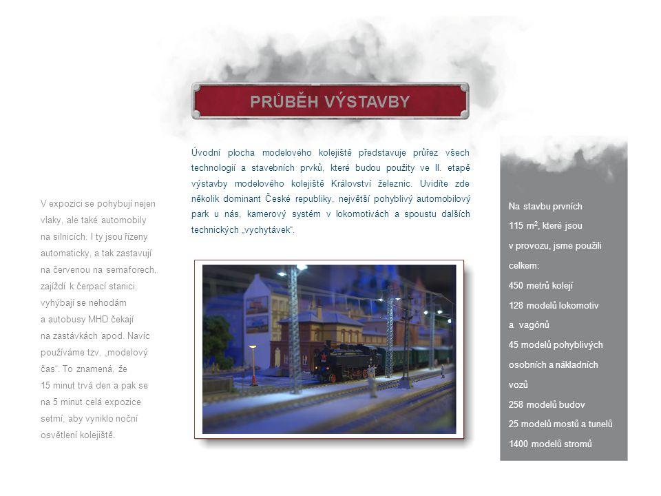 DOKONČENÁ I.ETAPA Plánky tří kolejišť první etapy projektu, které byly uvedeny do provozu 1.