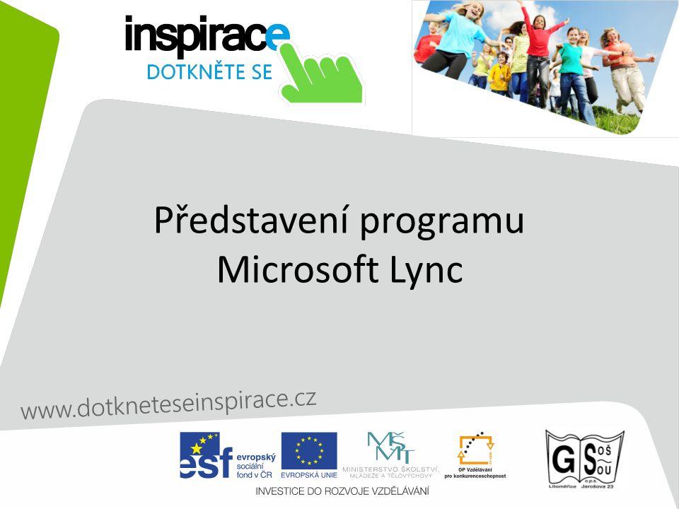 Představení programu Microsoft Lync
